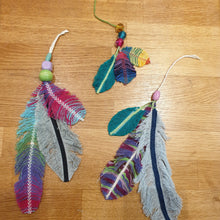 Load image into Gallery viewer, Peaceful Feathers & Beads Mini Craft Kit