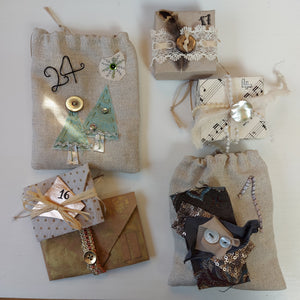 Make your OWN Advent - Craft Kit Project & Online Workshops with #PeaceandCraft