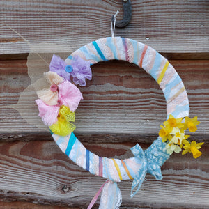 Easter wreath kit & online workalong demo
