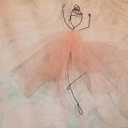 Wire Ballerinas & Fairies: #peaceandcraft Workshop Project 2020