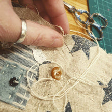 Load image into Gallery viewer, Scrap Stitching Mini-Makes: #peaceandcraft Workshop Project 2020