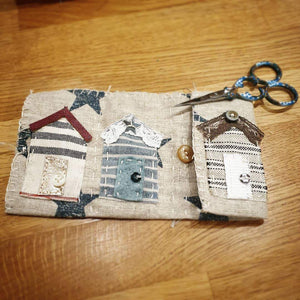 Scrap Stitching Mini-Makes: #peaceandcraft Workshop Project 2020
