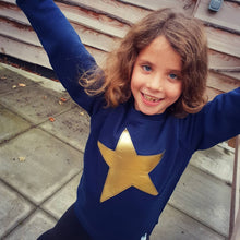 Load image into Gallery viewer, The Natty-Beth (custom) #squiffystar CHILDREN'S SWEATSHIRT