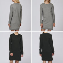 Load image into Gallery viewer, The Rachael (custom) #squiffystars RELAXED SWEAT DRESS
