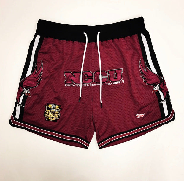North Carolina Central University G.O.A.T Basketball Shorts