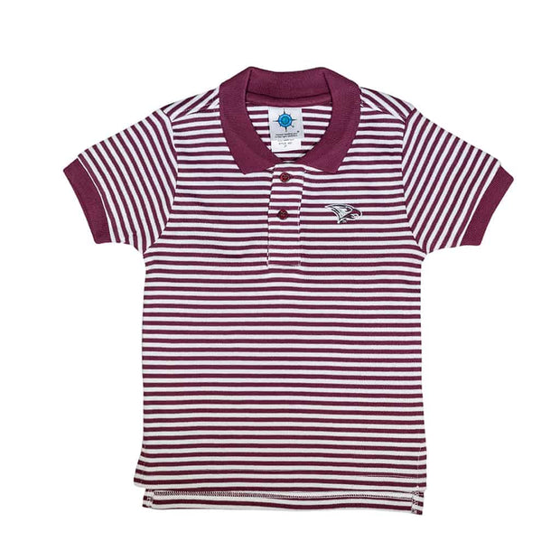 Kid's Striped Polo