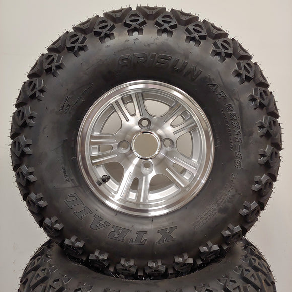 10in. Off Road 22 X 11-10 on Excalibur Wheel - Set of 4