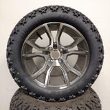 14in. Off Road 23x10x14 on Excalibur Gunmetal Wheel - Set of 4
