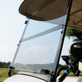 Windshield - CLEAR - Factory Style Folding (Includes Mounting Kit)