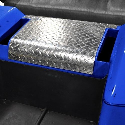 Diamond Plate EZGO TXT Motor Cover