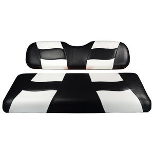 Genuine Madjax Premium Riptide Seat Cover Set - Black/White