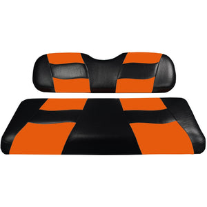 Genuine Madjax Premium Riptide Seat Cover Set - Black/Orange