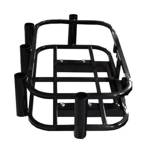 Hitch Mount Cooler/ Rod Holder Rack