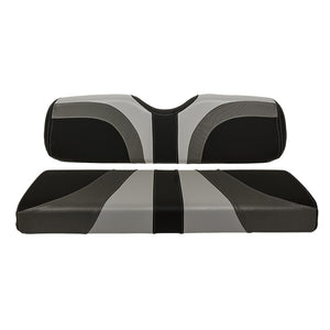 Blade Seat Cover Set – Gray / Charcoal Gear / Black Carbon Fiber