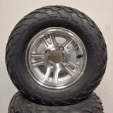 10in. LIGHTNING Off Road 20X10X10 on Excalibur Wheel - Set of 4