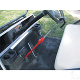 """The Club"" Pedal to Wheel Lock for Golf Cart"