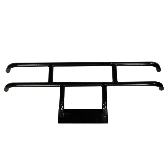 Brush Guard, Front Black Powder Coat Steel, Club Car DS
