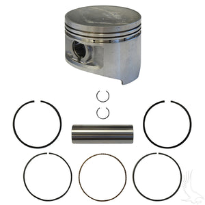 Piston and Ring Assembly, +.50mm, Club Car Precedent/DS 92+