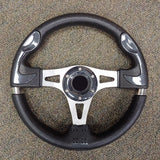 Carbon Fibre Custom F1 Golf Cart Steering Wheel with Adapter