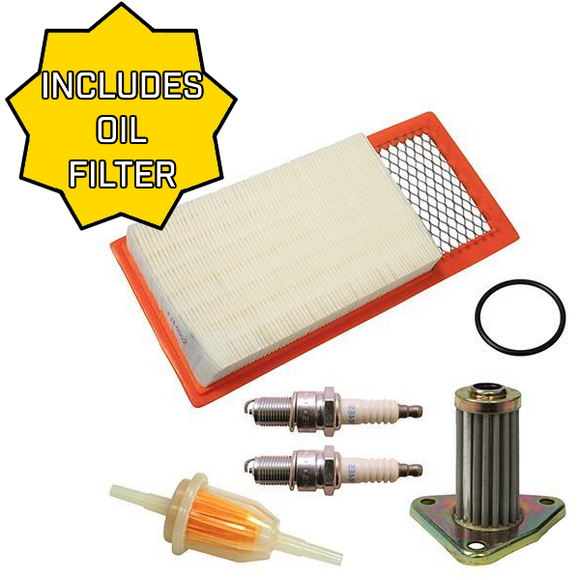 Tune Up Kit, E-Z-Go 4-cycle Gas 94-05 w/ Oil Filter
