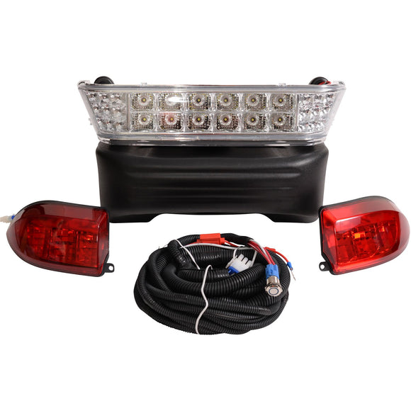 LED Light Bar Kit, Club Car Precedent, 08.5+, 12-48v