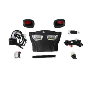 ULTIMATE Street Package - LED Adjustable Light Kit with Daytime Running Lights, E-Z-GO RXV 08-15