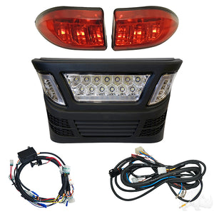 LED Light Bar Bumper Kit w/ Multi Color LED, Club Car Precedent Electric 08.5 & up