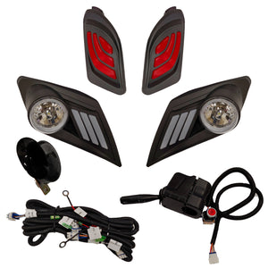 LED Deluxe Light Kit, Yamaha Drive2, 12-48V