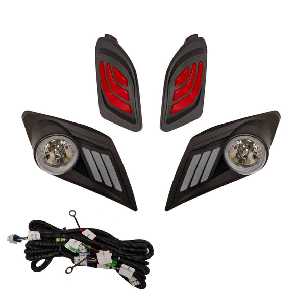 LED Light Kit, Yamaha Drive2, 12-48V