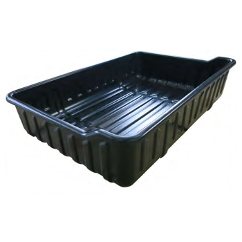 Plastic Utility Cargo Box w/ Mounting Kit