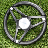 Gussi Molino® Black Steering Wheel
