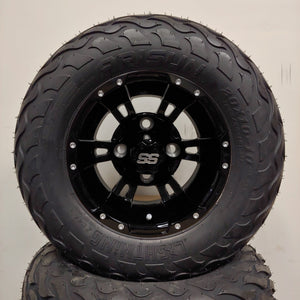 10in. LIGHTNING Off Road 20X10X10 on Excalibur Series 57 Gloss Black Wheel - Set of 4