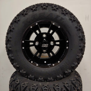 10in. Off Road 20X10X10 on Excalibur Series 57 Gloss Black - Set of 4
