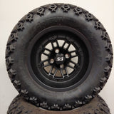 12in. Off Road 23x10.5x12 on SS216 BLACK OPS - MATTE BLACK Wheel - Set of 4