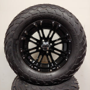 12in. LIGHTNING Off Road 23x10-12 on HD314 Gloss Black Wheel - Set of 4