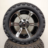 14in. Off Road 23x10x14 on Excalibur Series 57 Black w/ Machined Face Wheel - Set of 4