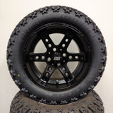 14in. Off Road 23x10x14 on Excalibur Series 72 Matte Black Wheel - Set of 4