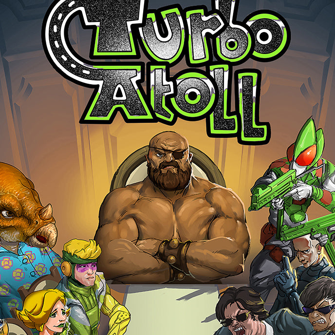 Turbo Atoll: Chapter 2 - Comic Book