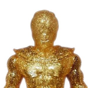 "Gold Glitter - 8"" Mega Knight"