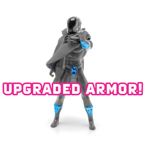 Armor Upgrade: Vac-Metal Blue (figure not included)