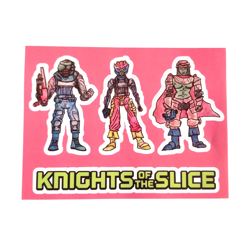 KOTS Sticker Sheet