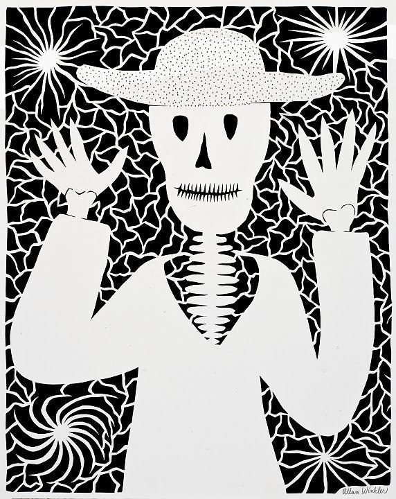The Skeleton with Hat