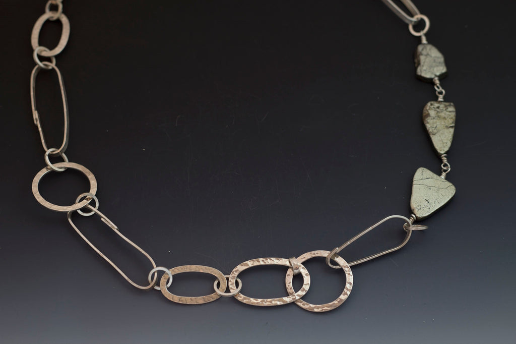 Caroline Viene Sterling Silver Necklace