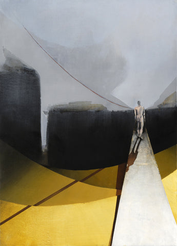 Figure in Yellow Road