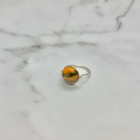 バンブルビー(silver): innocent moon ring