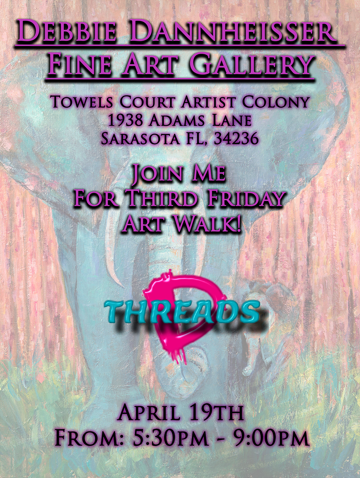 Joing Us For Third Friday Art Walk!