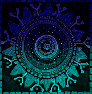 Mandala Purple & Teal