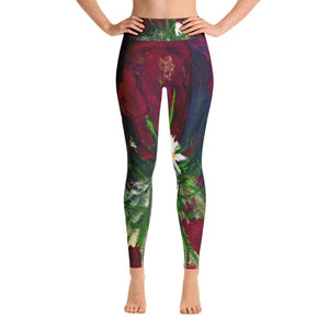 Red Tulip Leggings Hi Front