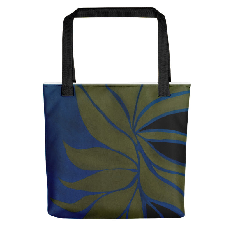 """Avocado Leaves"" Tote Bag"