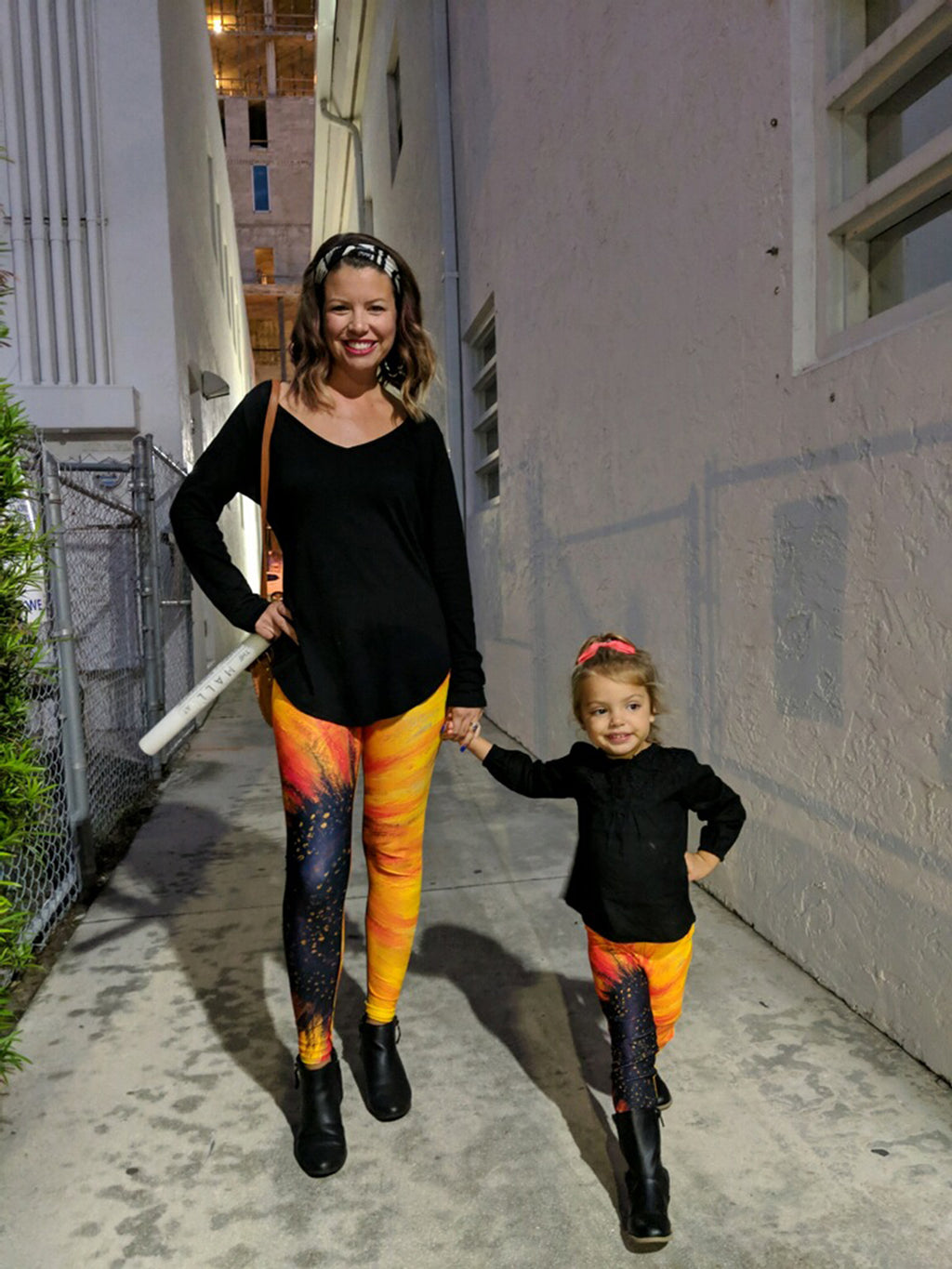 """Big Sunflower"" Art Athleisure Leggings"